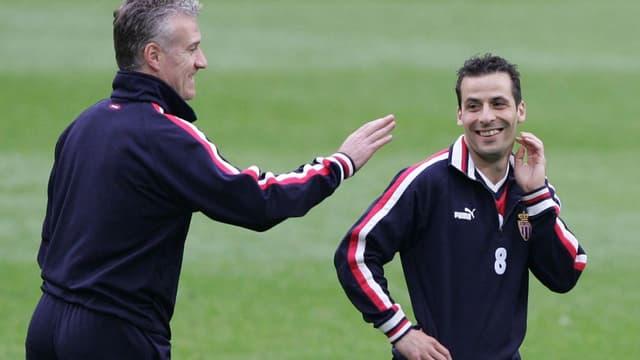 Didier Deschamps et Ludovic Giuly