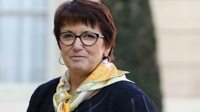 Christiane Lambert, la présidente de la FNSEA