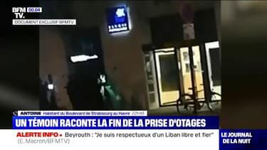 Les images exclusives de l'arrestation du preneur d'otages au Havre