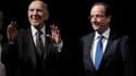 """Le diplomate et ancien résistant Stéphane Hessel a invité jeudi François Hollande à """"résister"""" à ceux qui lui demandent """"d'y aller mollo"""" dans la perspective de l'élection présidentielle. Les deux hommes ont discuté en public pendant plus d'une heure lors"""