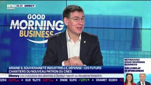 Spatial : Philippe Baptiste, PDG du CNES sur Good Morning Business
