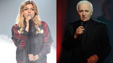 Louane a rendu hommage à Charles Aznavour