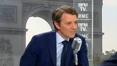 François Baroin jeudi matin sur BFMTV et RMC.