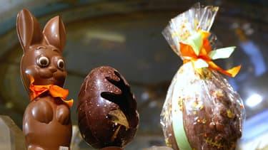 Chocolats de Pâques.