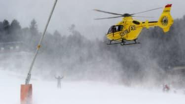 Hélicoptère de secours (illustration)