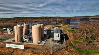 La centrale de production et de stockage développée dans la ville de Turlock en Californie, permet de stocker une grande quantité d'énergie.