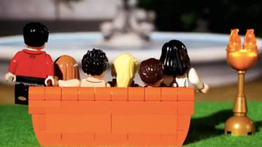 Friends version Lego