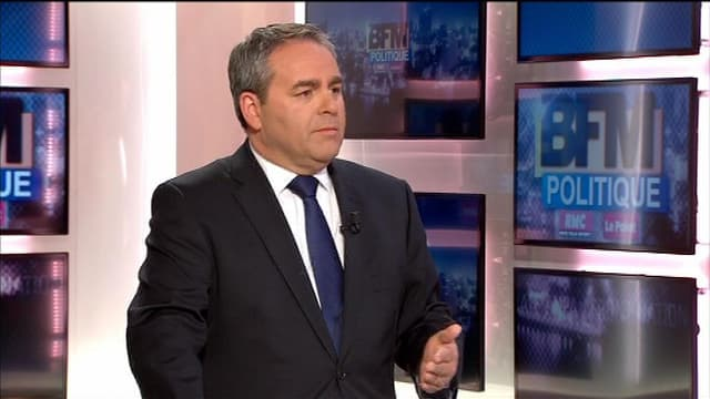 Xavier Bertrand, ancien ministre et député UMP de l'Aisne, invité de BFM Politique le 17 mars 2013.