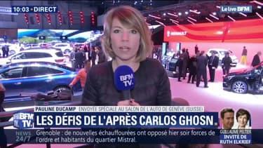 L'ombre de Carlos Ghosn plane sur le salon de l'auto de Genève