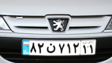 """Pour Peugeot, comme pour Renault, l'iran est """"plus important en termes de volumes qu'en termes de résultats""""."""