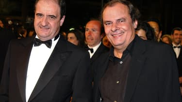 """Pierre Lescure était un proche de l'ancien directeur des programmes de Canal+, Alain de Greef, décédé lundi, qui était à l'origine de la création des """"Guignols de l'info""""."""