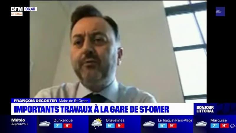 Saint-Omer: la gare bientôt rénovée, début des travaux en juin selon le maire