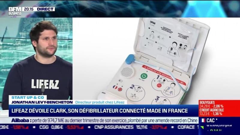 Start up & co : Lifeaz dévoile Clark, son défribrillateur connecté made in France - 13/05