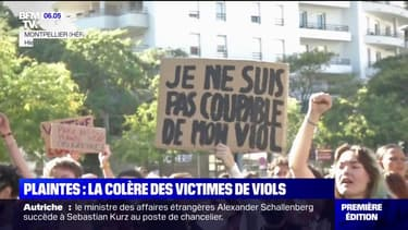 Montpellier: une manifestation pour dénoncer la mauvaise prise en charge des plaintes concernant des violences sexuelles