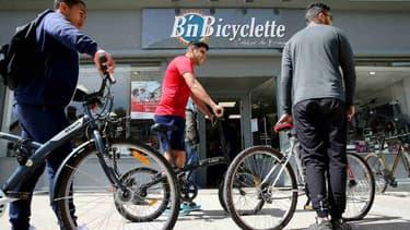 """Image d'illustration - A côté du plan vélo de 400 millions d'euros annoncé par le gouvernement, le ministère des Transports déploie également cette semaine le """"forfait mobilités durables""""."""