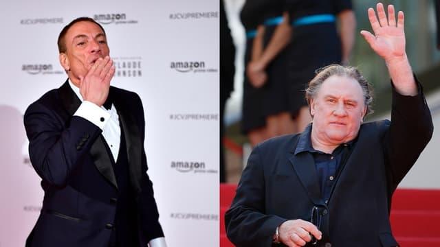 Jean-Claude Van Damme et Gérard Depardieu
