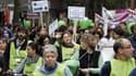Manifestation des membres du collectif Sciences en marche, le 17 octobre 2014.