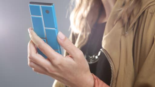 Motorola a présenté mardi le projet Ara, un téléphone modulable