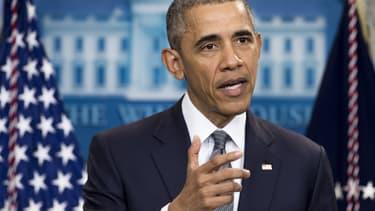 Barack Obama, le 6 mai 2016.-