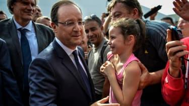 François Hollande s'est rendu au sommet de l'élevage pour détailler les mesures comprises dans la future Politique agricole commune (PAC).