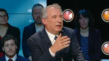 François Bayrou invité sur le plateau de BFM Politique, le 16 décembre 2018