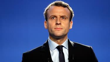 Emmanuel Macron, le 16 novembre 2016. -