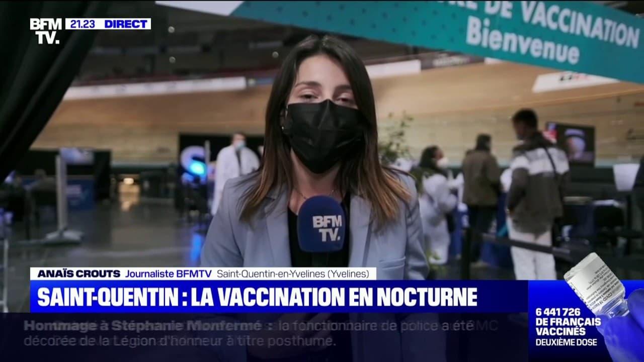 Ce centre de vaccination de Saint-Quentin-en-Yvelines va rester ouvert jusqu'à minuit
