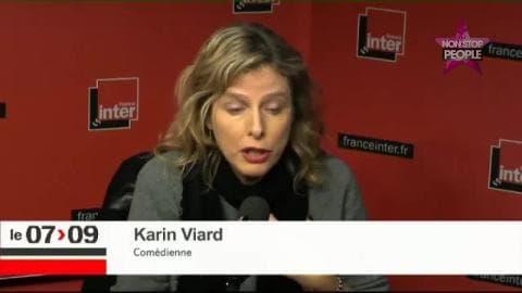 """Karin Viard : """"C'est insupportable d'être de gauche"""""""