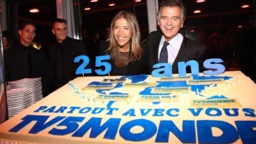 Marie-Christine Saragosse a succédé à Alain de Pouzilhac à la tête de l'AEF