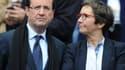 François Hollande aux côtés de Valérie Fourneyron