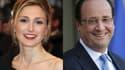 Julie Gayet et François Hollande.