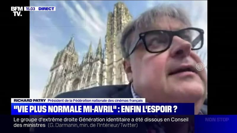 """Une vie plus normale mi-avril? Les cinémas français """"s'y accrochent avec beaucoup de bonheur"""""""