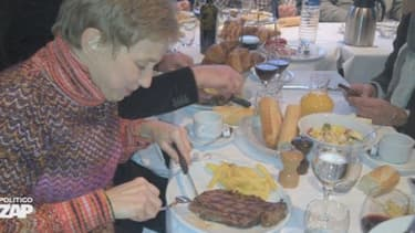 """Le """"petit déjeuner"""" de Laurence Parisot"""
