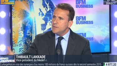 Thibault Lanxade estime que les entreprise ont besoin de confiance pour continuer à investir.