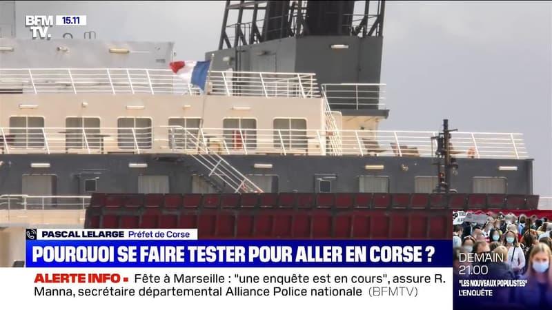 Covid-19: le préfet de Corse annonce qu'un test sera obligatoire pour se rendre en Corse