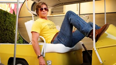 Brad Pitt dans Once upon a time ... Hollywood