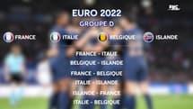 Euro 2022 (F) : Le tirage au sort complet, les Bleues épargnées