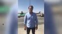 Jérémie Paire, journaliste de BFMTV à l'aéroport de Kaboul.