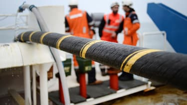 Un câble électrique sous-marin de 600 kilomètres de long va être déployé entre les deux pays. (image d'illustration)