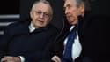 Jean-Michel Aulas et Gérard Houllier