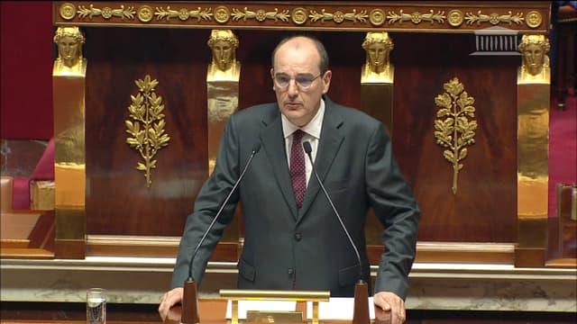 Jean Castex le 15 juillet 2020 à l'Assemblée nationale