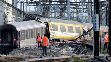 Le train Téoz 3657 Intercités Paris-Limoges a déraillé le 12 juillet à Brétigny-sur-Orge, dans l'Essonne