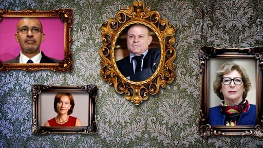 Harlem Désir, Laurence Rossignol... Découvrez les nouveaux secrétaires d'Etat.
