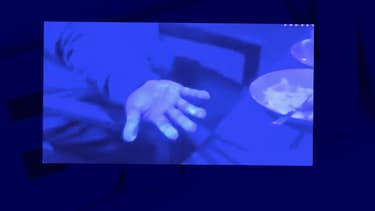 Un extrait de la vidéo de NHK