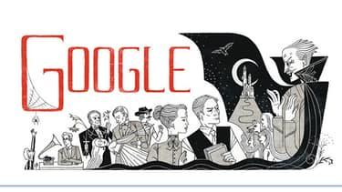 Bram Stoker à l'honneur sur Google