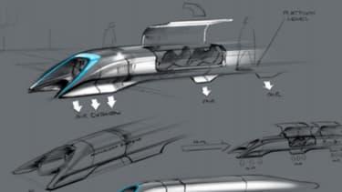 Elon Musk a présenté les premiers designs pour l'Hyperloop.