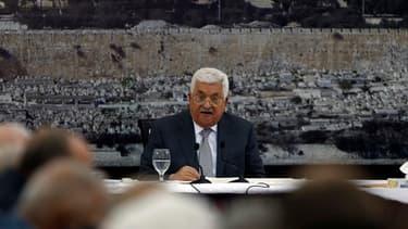 Mahmoud Abbas, président palestinien.