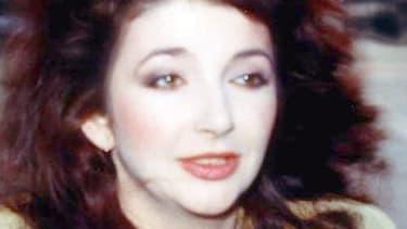 Kate Bush en 1986.