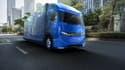 Le camion électrique e-Fuso One dispose d'une autonomie de 350 kilomètres.