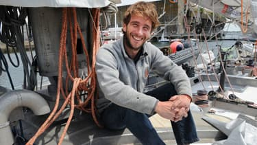 """Le capitaine au long cours du voilier Tara, Loïc Valette, rêve de voir son """"premier iceberg""""."""
